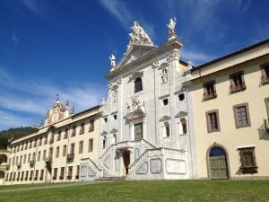 Un vista della certosa di Calci in provincia di Pisa